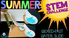 Your end of the year activities need to be on-point to counter those summer daydreams!  Summer STEM Challenges are the perfect solution!In partners/groups, students will design a water slide built for speed, thrills, and safety. Note: This video was originally created for YouTube, so references to clicking on the video do not work on TpT; however, the links to everything clickable is included in the description below.