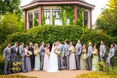 This French Garden Wedding Showcases the Beauty of the Boston Area