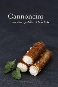 cannoncini (Italian Cream Horns) recipe in Italian
