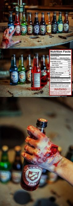 You Will Need These Sodas During a Zombie Apocalypse