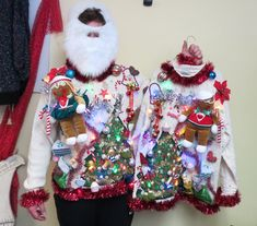 Couples Christmas Sweaters, Best Ugly Christmas Sweater, Christmas Couple, Xmas Sweaters, Christmas Outfits, Red Christmas, Ugly Sweater, 3d Light, Holiday Ideas