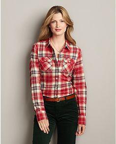 Flannel Utility Shirt | Eddie Bauer Reg M