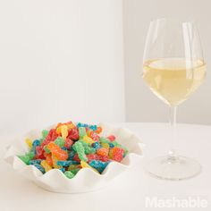 Wines to pair with your favorite candy––BECAUSE I'M CLASSY BUT ALSO WHIMSICAL
