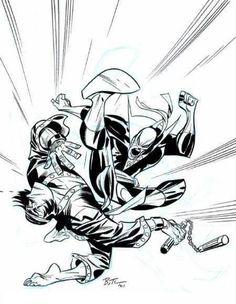 Comic Book Artists, Comic Book Characters, Comic Artist, Comic Books Art, Comic Character, Bruce Timm, Iron Fist Marvel, Comic Frame, Drawn Art