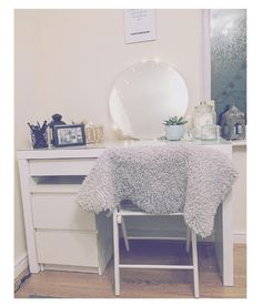 New dressing table! #Ikea #Malm #Home #Interior