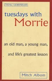 One that could so easily be devoured in one sitting. The delightful final journey of lecturer and student, as Morrie shares important life lessons with Mitch Albom.