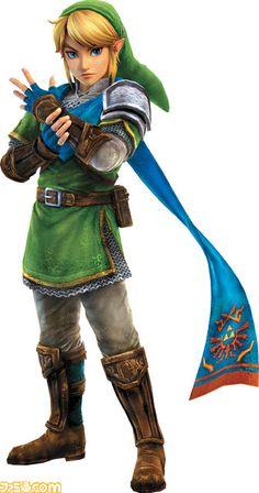 The Legend of Zelda: Hyrule Warriors coming soon to Wii U Art published in famitsu magazine
