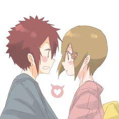 Digimon Adventure 02 - Love: Davis (Daisuke) Motomiya and Kari Kamiya (Hikari Yagami)