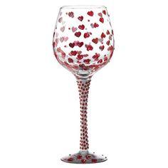 Lolita Glasswear - Superbling Red #Hot Large #Wine #Glass - 25.5cm - GLS20-5524C