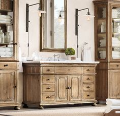 St. James Extra-Wide Single Vanity Sink @ Restoration Hardware
