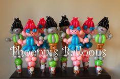 Trolls Birthday Party, Troll Party, 2nd Birthday, Birthday Parties, Balloons, Birthdays, Party Ideas, Anniversary Parties, Anniversaries
