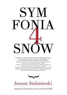 TYPOGRAPHY: posters. by Małgorzata Wyrzykowska, via Behance