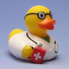 Quietscheente Notarzt