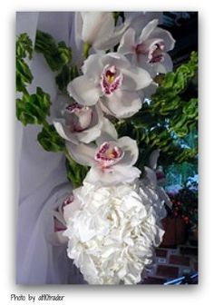 wedding flowers orchids Wedding Reception Planning, Wedding Planning Guide, Orchids, Wedding Flowers, Wedding Invitations, Wedding Invitation Cards, Wedding Invitation, Wedding Announcements, Orchid