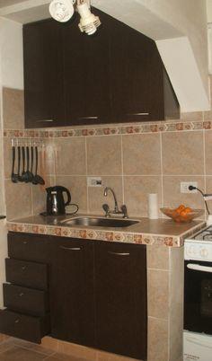 Imagen 023 Kitchen Counter Tile, Concrete Kitchen, Kitchen Units, Kitchen Cabinet Design, Kitchen Redo, Rustic Kitchen, Interior Design Kitchen, Kitchen Countertops, Kitchen Cabinets