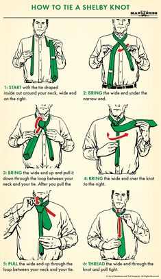 How to Tie a Tie: The Complete Guide | The Art of Manliness #mensties #tie #mensfashion #menswear #tieknots #howtotieknot