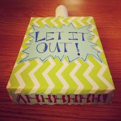 Cool School Counseling: Made It Monday: Let It Out!