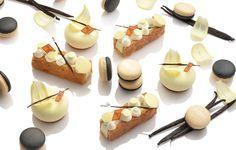 伝統的なフランス菓子「フレデリック・カッセル」のコレクション。9月は「バニラ」をフィーチャー。