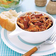 Warm up dinnertime with this slow-cooker supper!