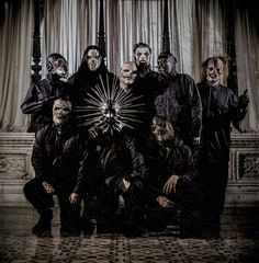 The newly masked Slipknot! Well mainly Corey's, not my favorite but it'll do!
