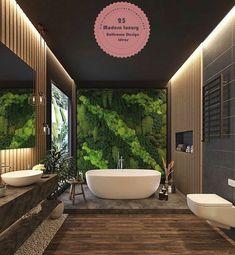 25 Tips For Those Who Want To Make Their Main Bath - Jardin Vertical Fachada Spa Like Bathroom, Bathroom Goals, Amazing Bathrooms, Modern Bathroom, Bathroom Photos, White Bathrooms, Luxury Bathrooms, Best Bathroom Designs, Bathroom Design Luxury