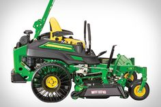 Available in three different models, the John Deere ZTrack 900 Airless-Tire Mower is ready to ensure you make short work of this year's grass-cutting duties no matter how much you have to mow. Each of the commercial-grade mowers features an...