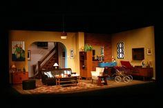 Absent Friends. Leicester Drama Society. Set designed by James Watson 2010