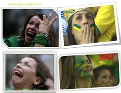 Heartbroken #Brazilian fans after black German