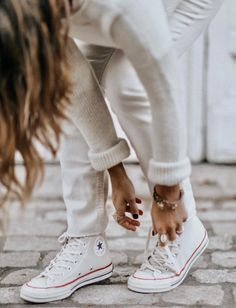 Le parfait total look blanc #33 (photo Collage Vintage)