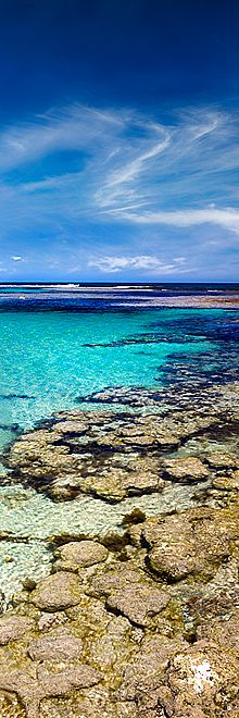 The crystal clear waters of Yallingup in the Cape Naturaliste