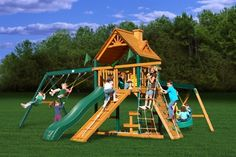 Gorilla Cedar Blue Ridge Frontier playset, Price: $2,049.00  (Current Special Price of $1,899.00!)
