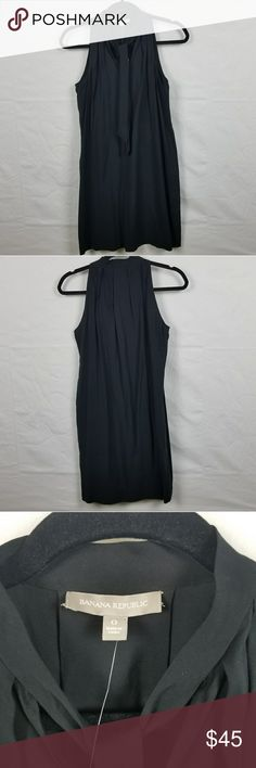 Banana Republic sleeveless LBD 0 Beautiful casual little black dress. It can be dressed up or down. Brand new with tags. Banana Republic Dresses Mini