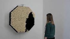 Daniel Rozin : 'Interactive Fur-Mirror' - Really.....K