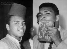 Muhammad Ali kissing the holy quran http://muhammadalipage.com/muhammad-ali-amazing-speed/