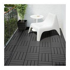 RUNNEN Floor decking, outdoor IKEA Floor decking makes it easy to refresh your terrace or balcony.
