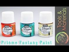 ▶ AMAZING PAINT EFFECT - Prisme Fantasy and Moon Fantasy paint tutorial - YouTube