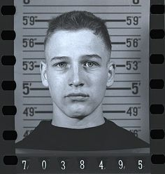 Young PAUL NEWMAN when he joined the Navy in 1943, during World War II.
