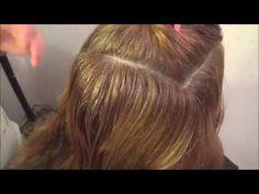 HOW TO DEGRAD A HAIR WITHOUT LOSING THE LONG, COMO DEGRADAR UN CABELLO SIN PERDER EL LARGO - YouTube