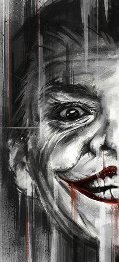 Batman 75th Anniversary Tribute - PP#10 :: Jack Nicholson as Joker in 1989 - Art by Robert Bruno by rena