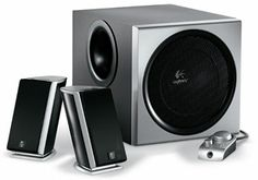 I've used this Logitech 2.1 sound system on my Mac for years now. I have yet to find anything of better value!