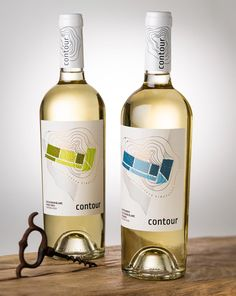 Wine Bottle Design, Wine Label Design, Wine Gift Boxes, Wine Gifts, Contour, Bottle Shock, Wine Names, Wine Packaging, Packaging Design