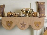 Image result for thanksgiving mantel scarf