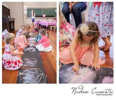 Pop Roc Parties Mary Poppins Party Sidewalk Chalk Drawings Photos by Nadine Canestri