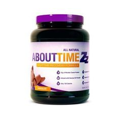 About Time Nighttime Recovery, Chocolate, 2 LB (Pack of 6)