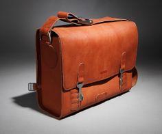 brown Kasperi leather bag