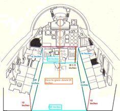 F-4 Cockpit measurements