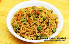 Maggi Vegetable Atta Noodles Recipe