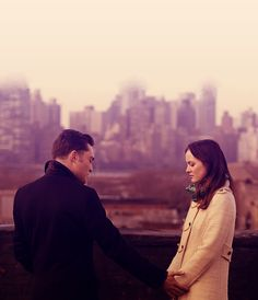 """Chuck & Blair - I absolutely love how they will wait until the very end for each other. As Chuck says, """"If two people are meant to be together, eventually they will find their way back"""" <3"""