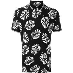 Dolce & Gabbana palm tree print polo shirt ($327) ❤ liked on Polyvore featuring men's fashion, men's clothing, men's shirts, men's polos, black, dolce gabbana mens shirts, mens palm tree shirt, mens short sleeve polo shirts, men's cotton polo shirts and mens summer shirts