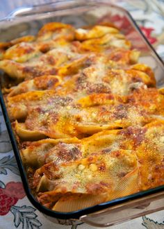 Baked Shells with Ricotta and Sausage | Plain Chicken